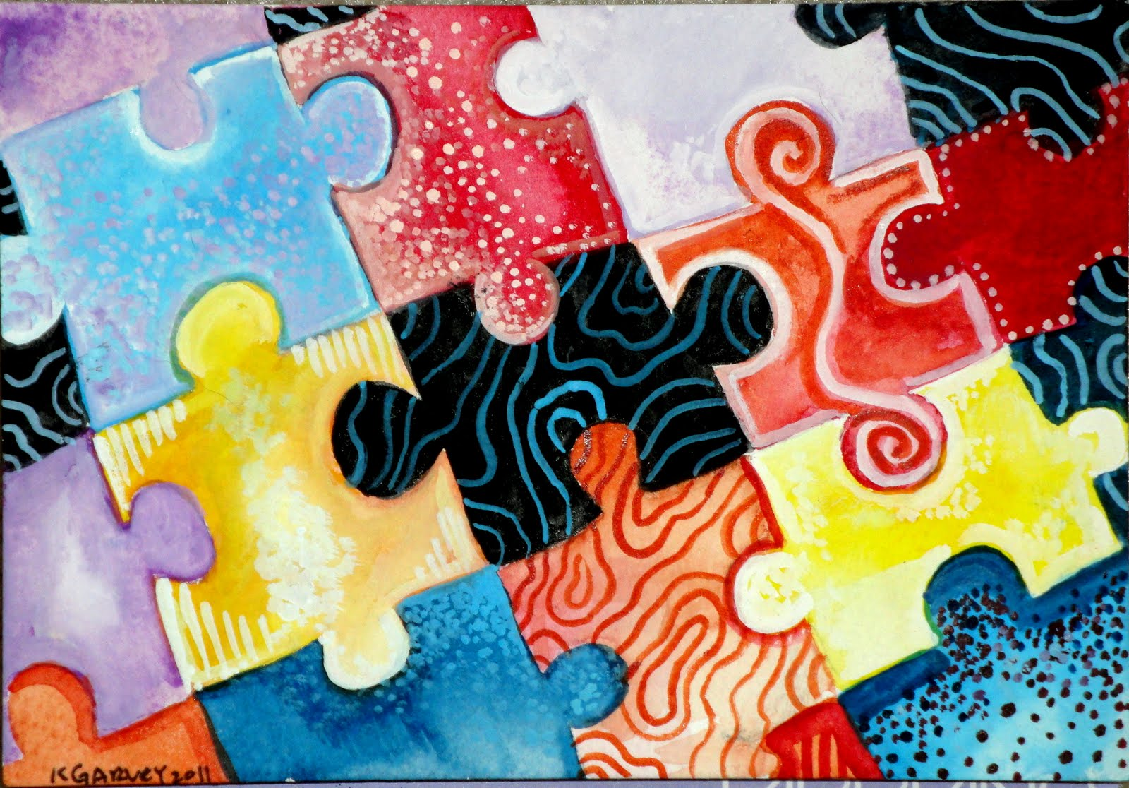 Abstract Art For Autism