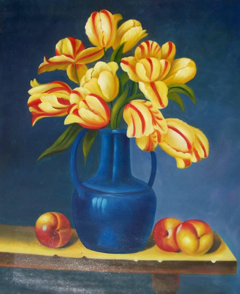 & Flower Vase paintings