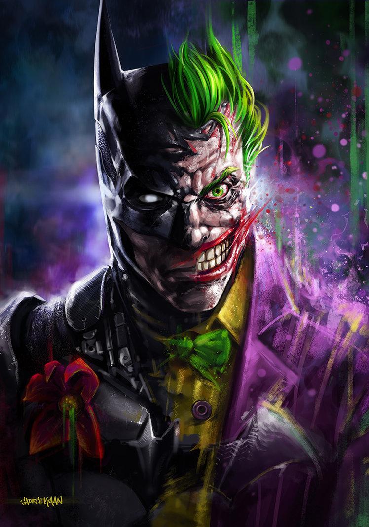 Batman Joker Paintings