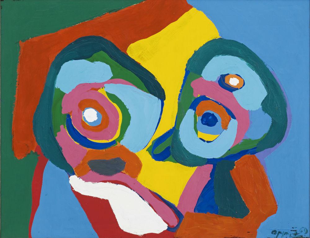 Nieuw Karel Appel paintings AT-68