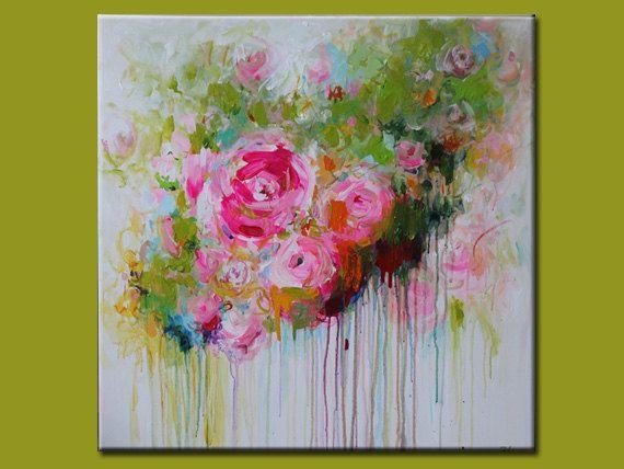 flower modern paintings