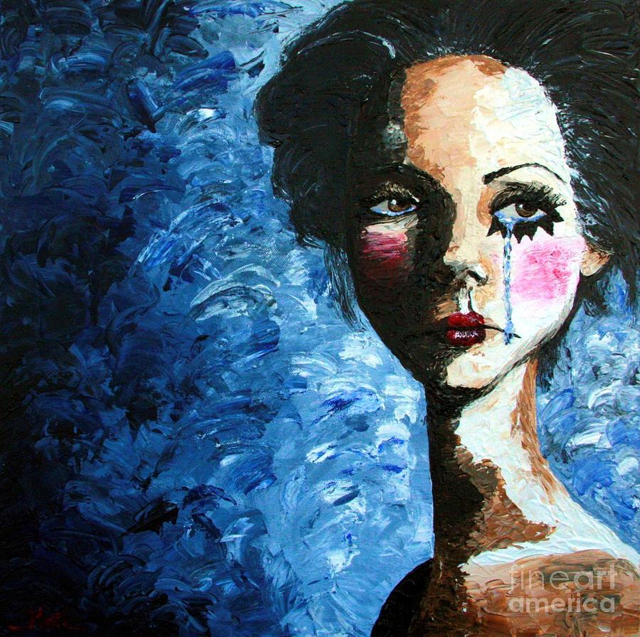Sad Art Paintings