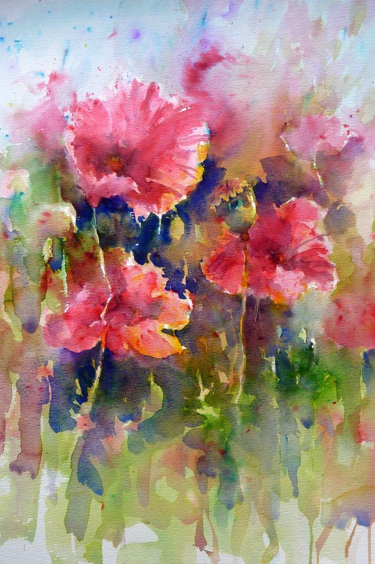 Loose Watercolor paintings
