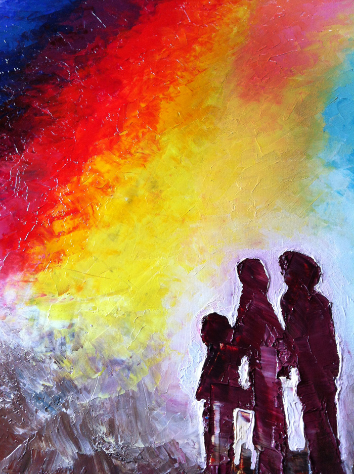 Abstract Family Paintings