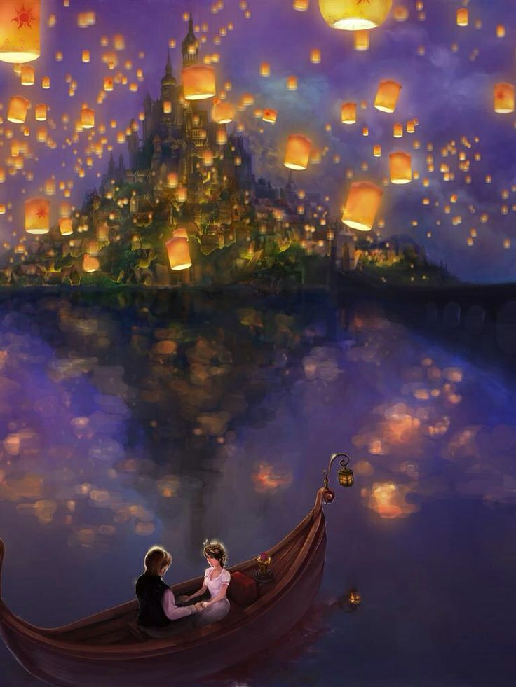 Tangled Lantern Paintings