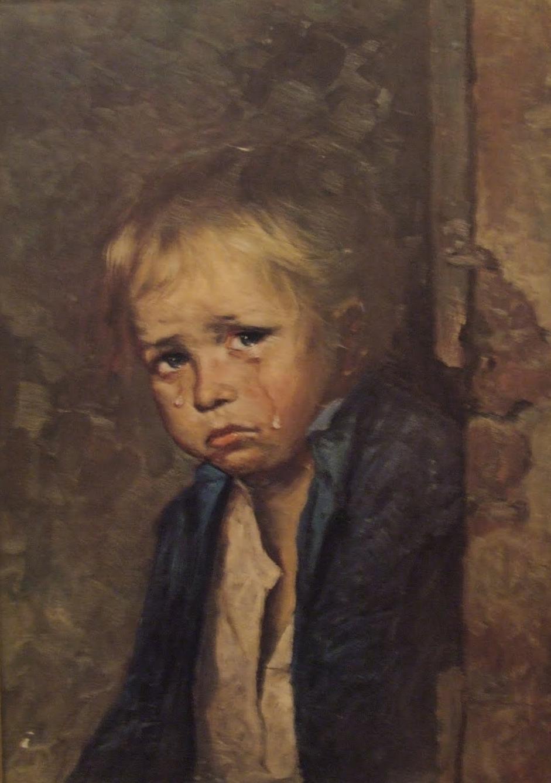 Kind bild bragolin weinendes Giovanni Bragolin