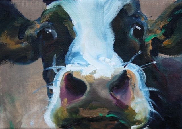 Cow Face paintings