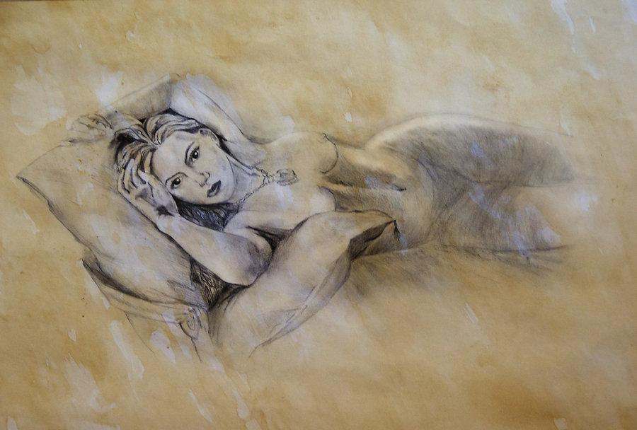 Kate winsletnude oil painting pics