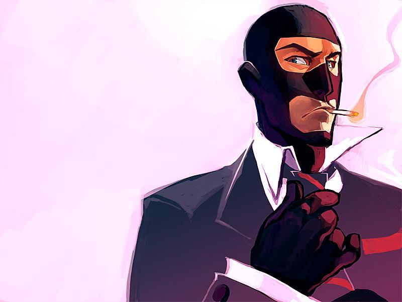 team fortress 2 spy unmasked