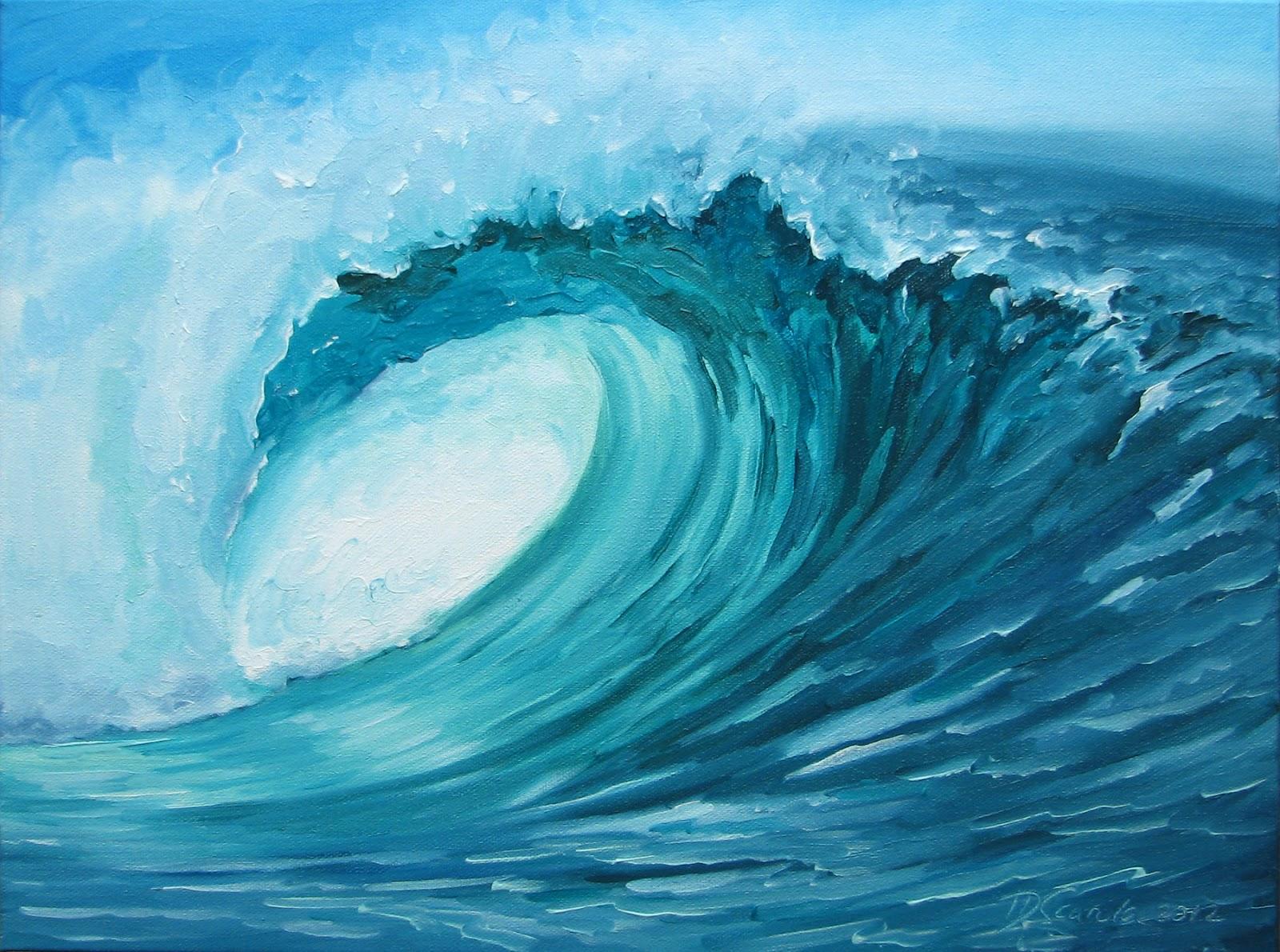 общага она рисунки больших волн часто встречаются