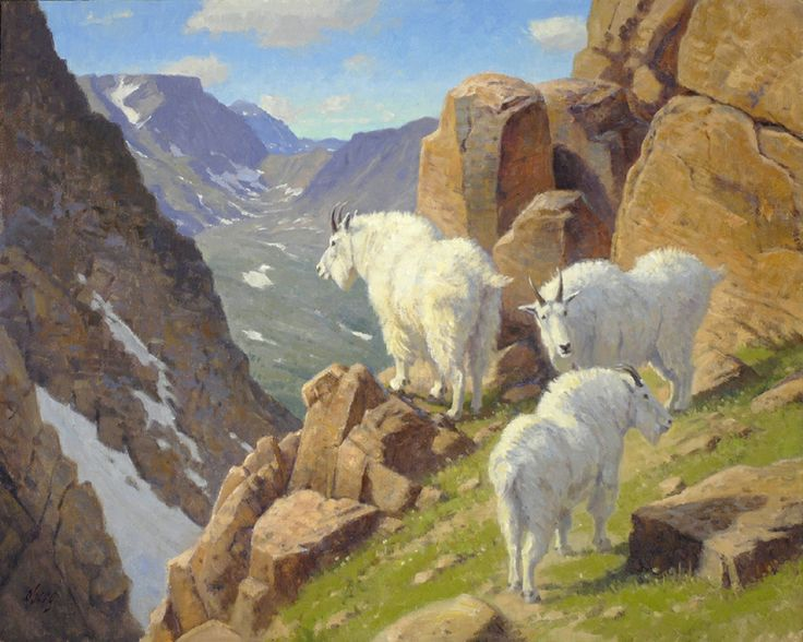Goat Paintings