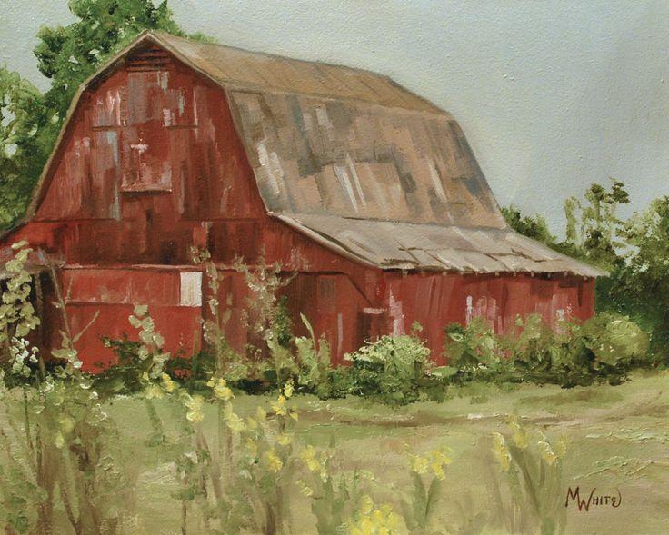 Barn paintings