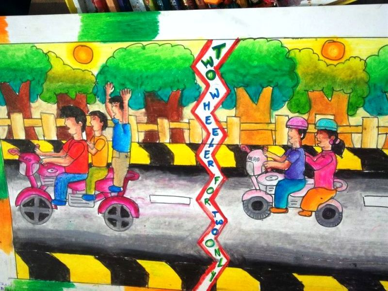Road Safety Paintings
