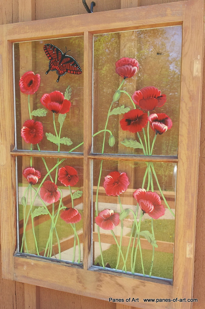 Window Pane Paintings