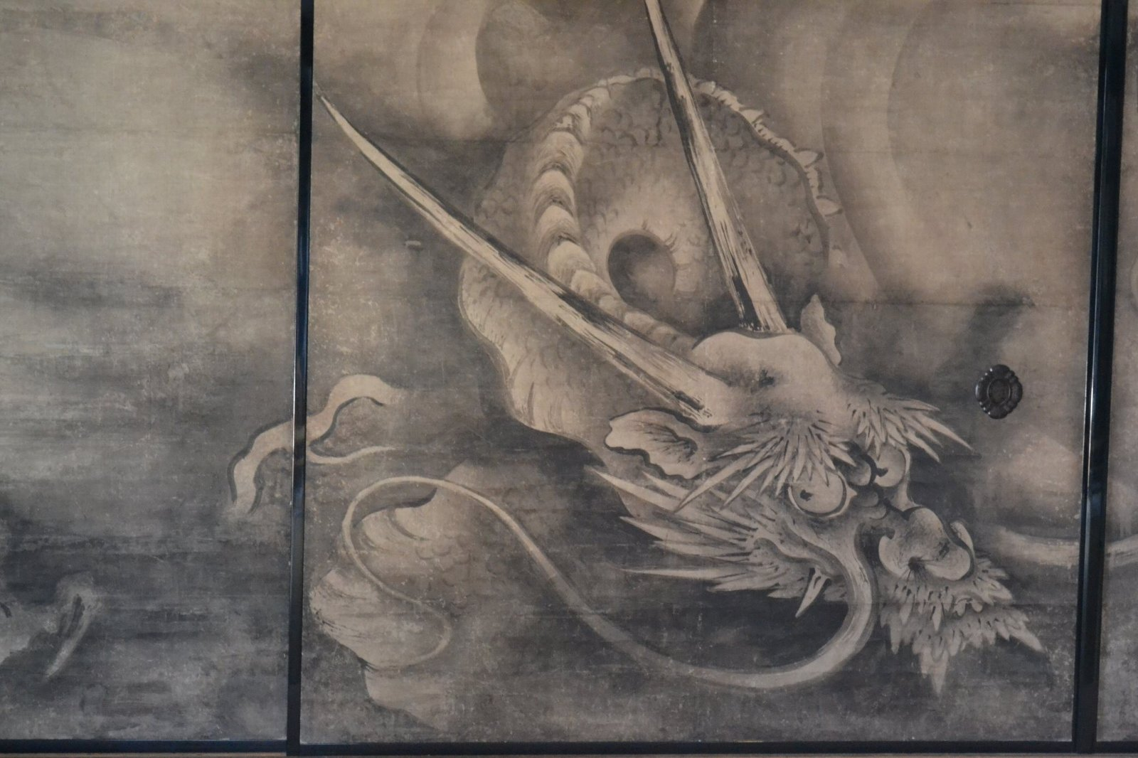 Japanese dragon paintings for Japanese dragon painting