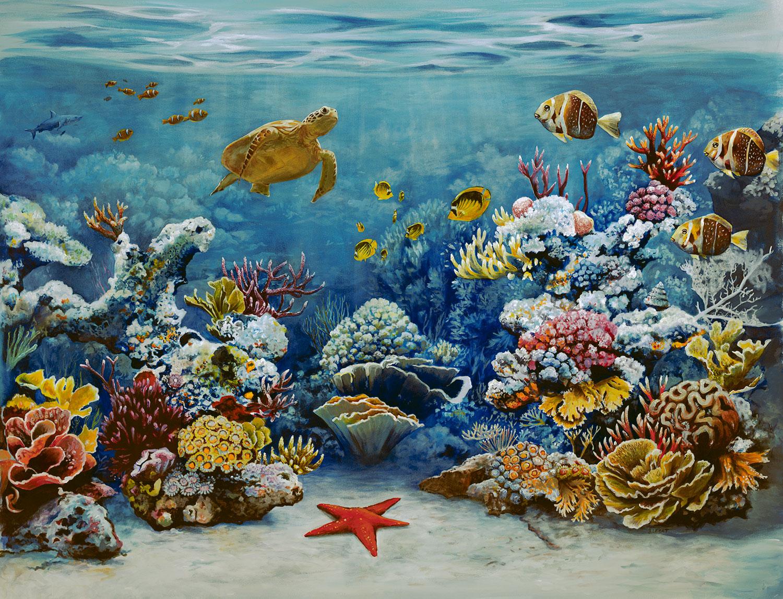 Coral Reef paintings