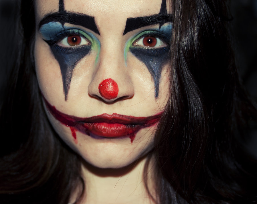 Clown Face Paintings