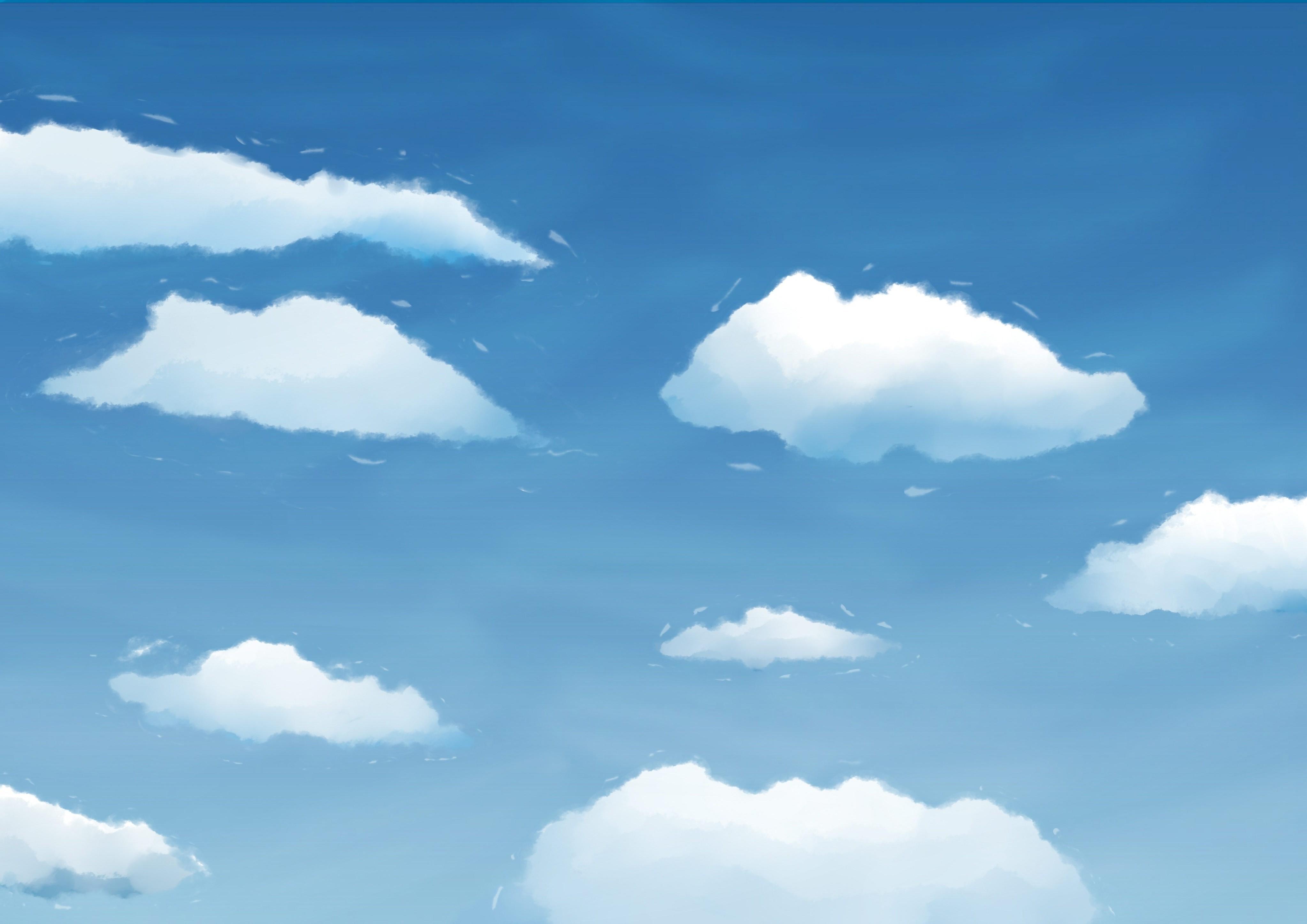 Картинки неба для малышей