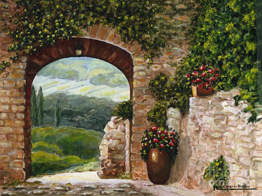арки в картинах художников как правило, само