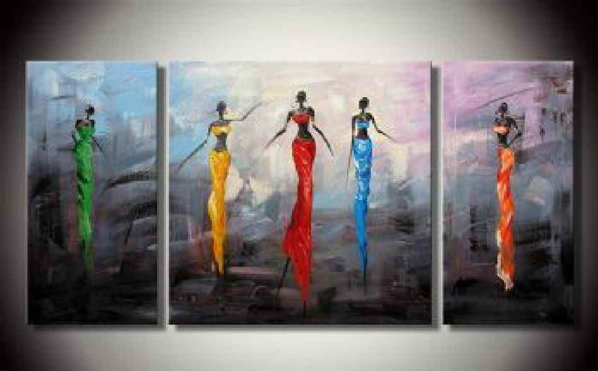 Abstract African Paintings