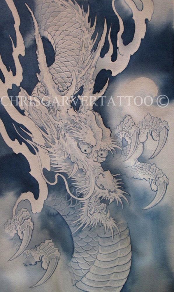 Chris Garver Dragon Tattoo Designs Google Search