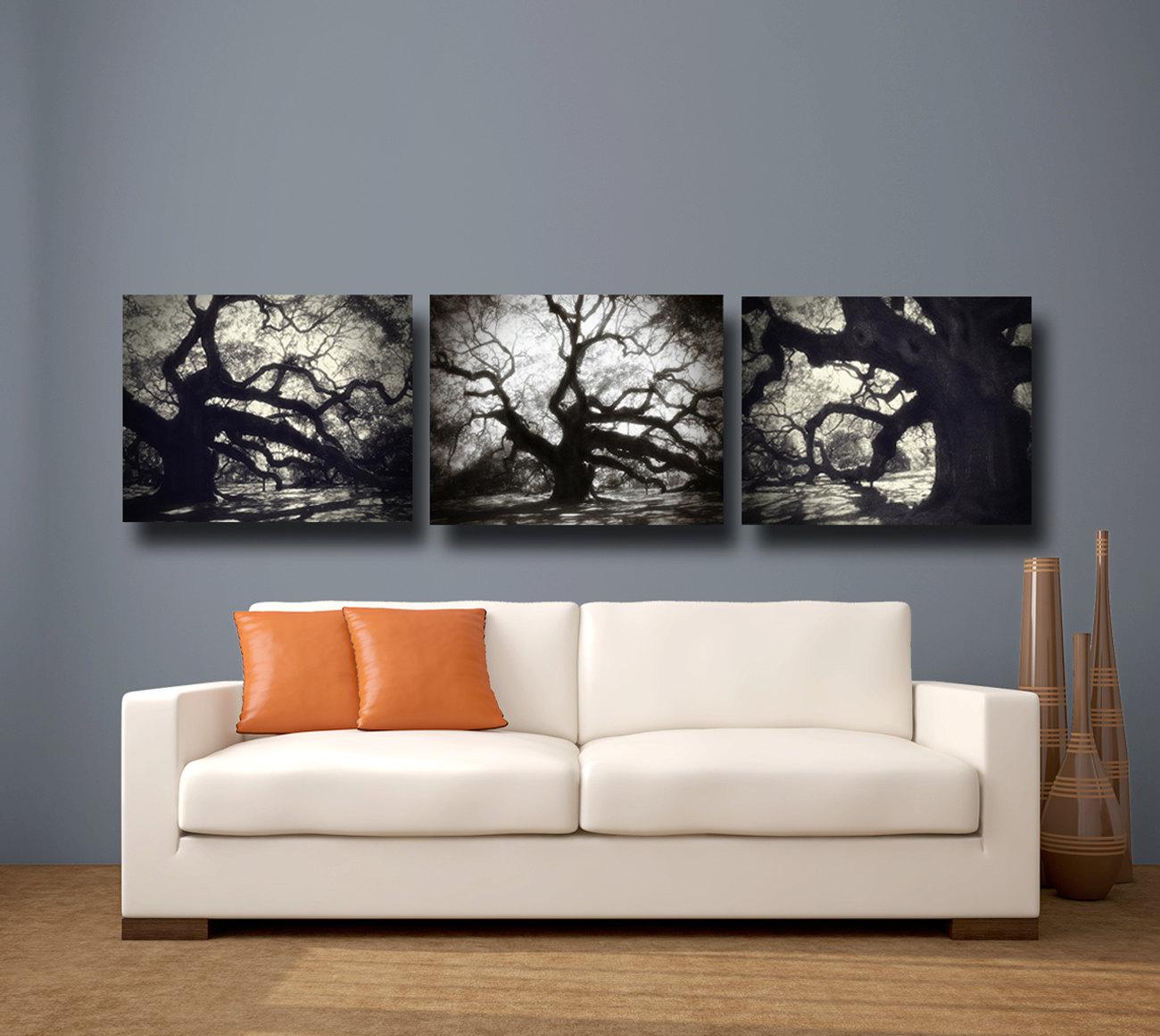 Black Canvas Paintings
