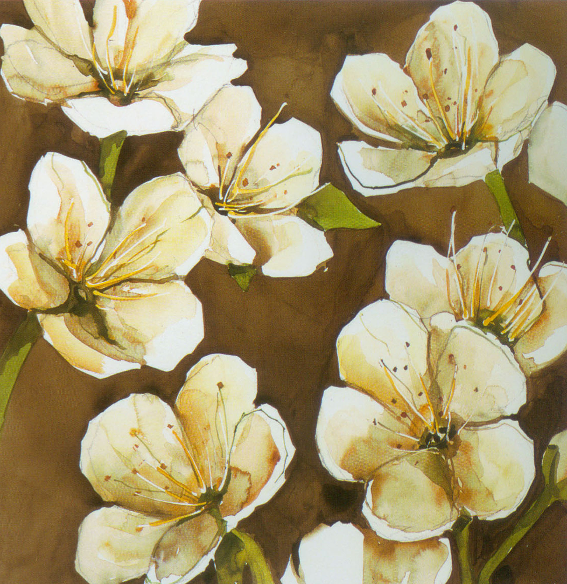 White flowers paintings pretty white flowers oil painting paint king mightylinksfo