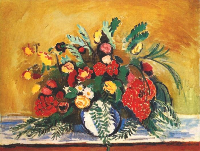 Famous Flowers In Vase Painting Flowers Healthy