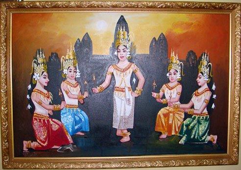 Apsara paintings