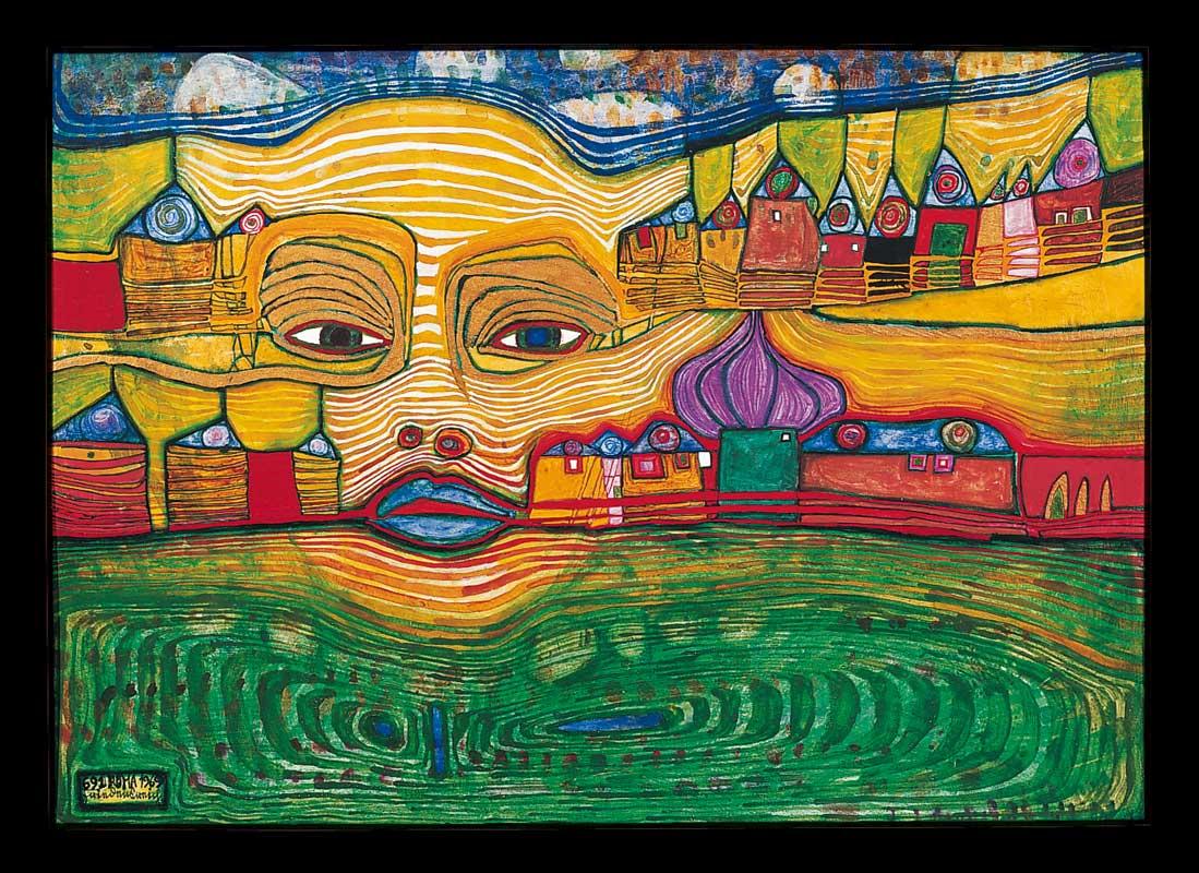 Hundertwasser Paintings