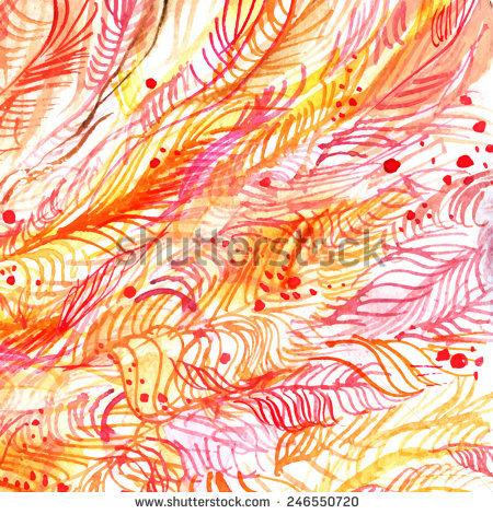 Line Blotch Paintings