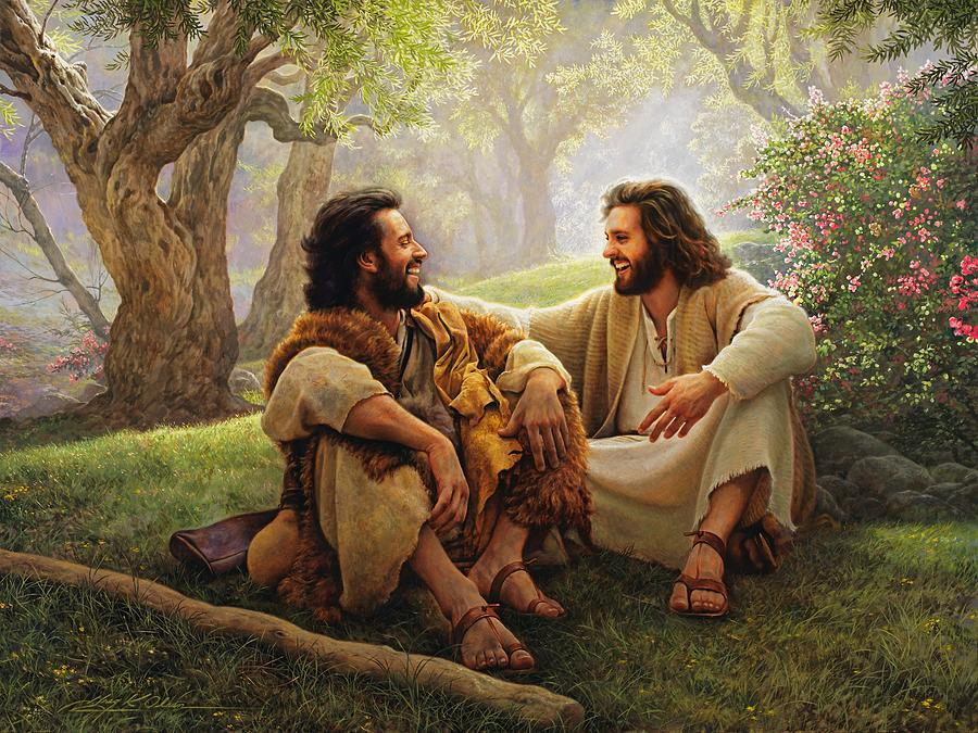 Image result for greg Olsen painting walking with God