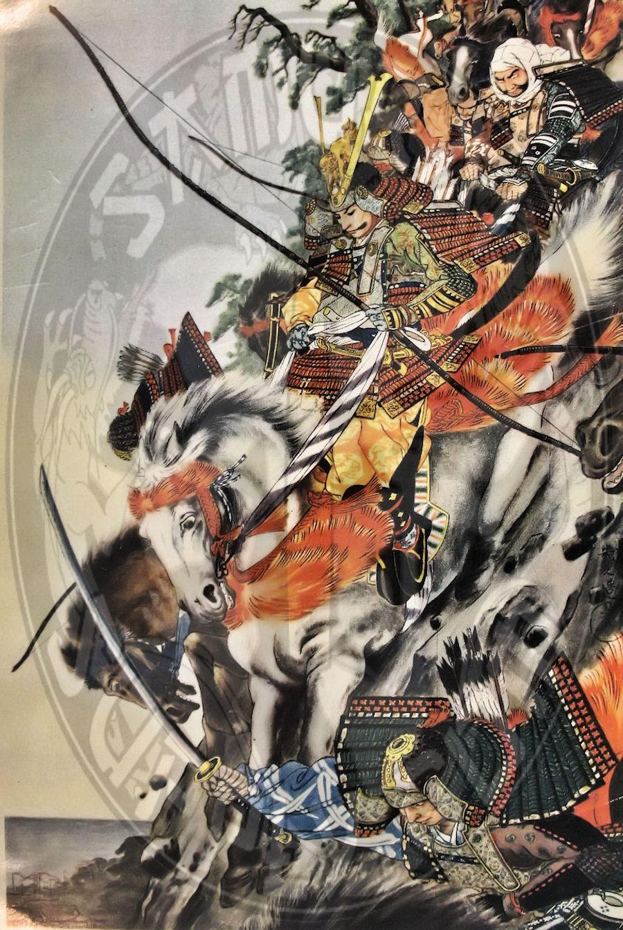 Japanese Samurai Paintings