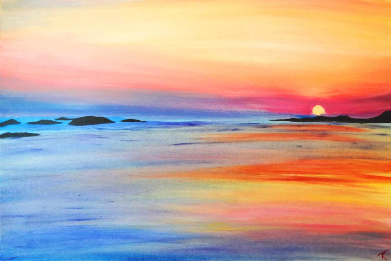 Easy Beach Paintings