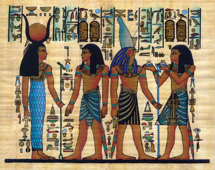 Artist's Notebook: History of Art: Ancient Egypt |Egyptian Art Paintings