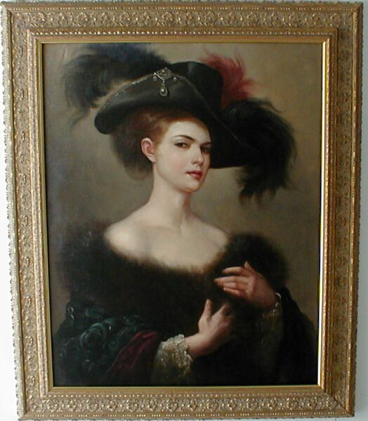 Victorian British Painting: Henry Tanworth Wells  Victorian Painting Portrait Artists