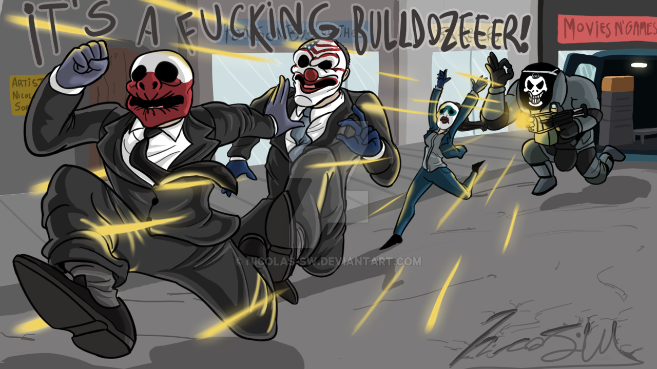Payday 2 Paintings