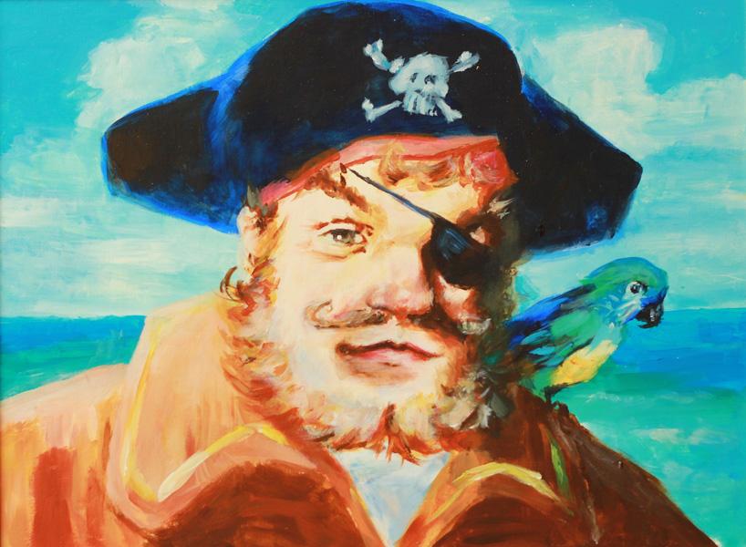 Spongebob Pirate Paintings