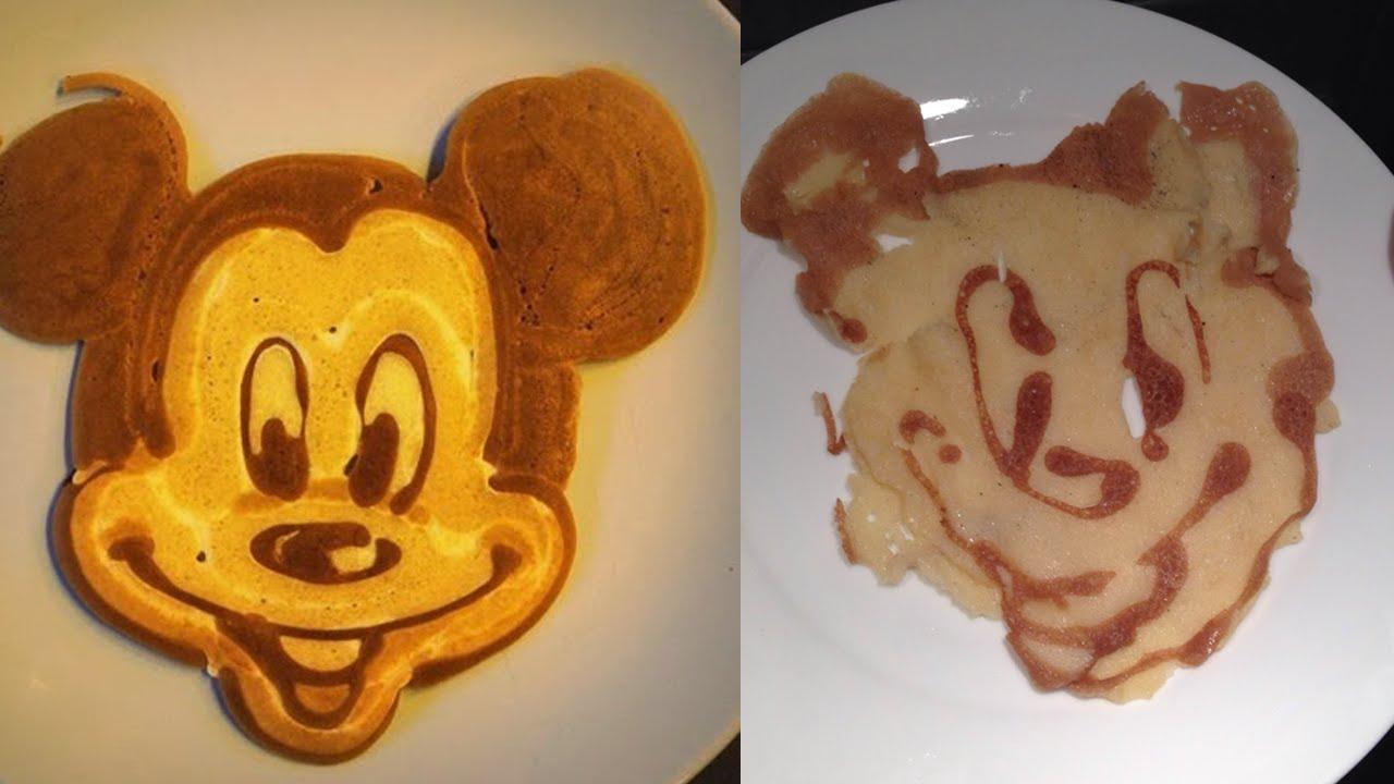 Amazing Pancake Art Youtube