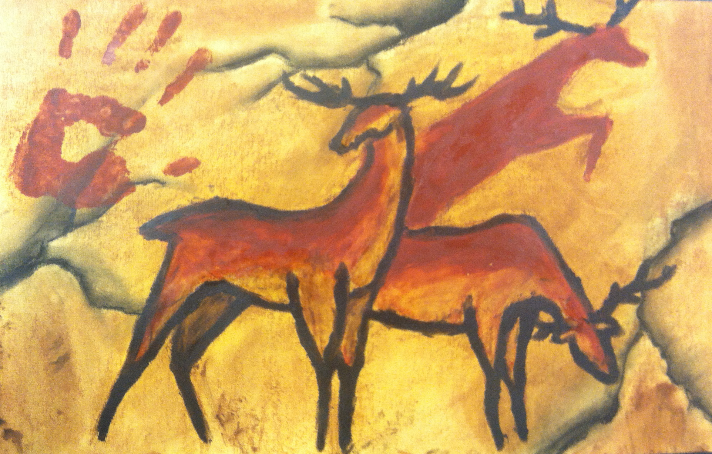 Animal Cave paintings