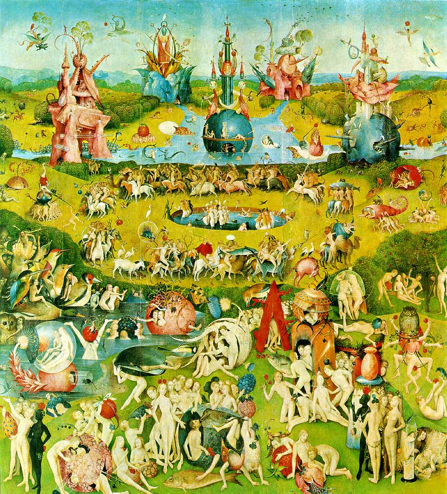 Earthly Delights paintings