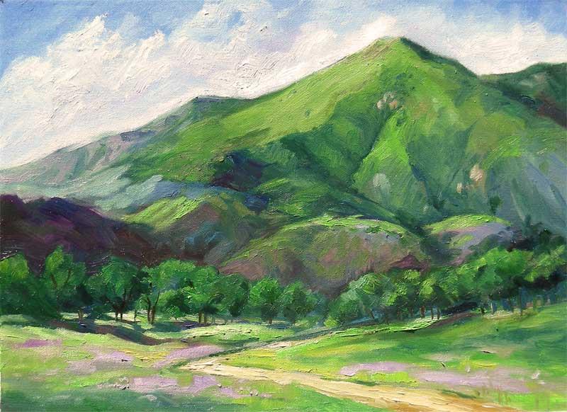 Mountain Range Paintings