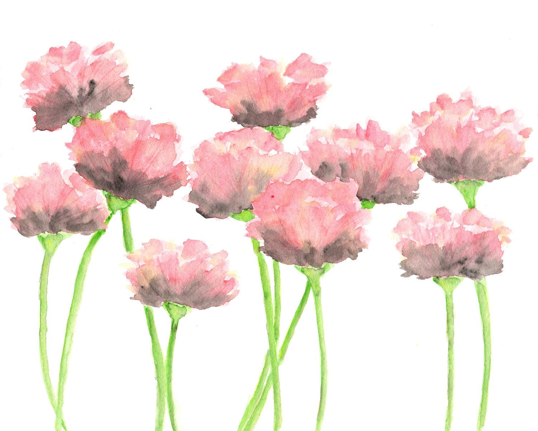 Watercolor Floral Paintings