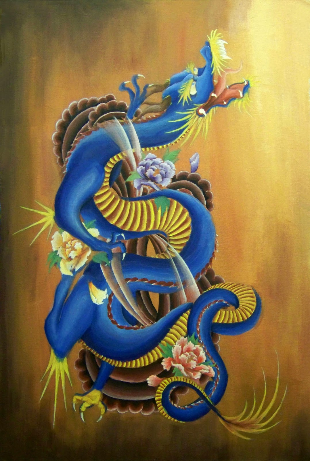 Japanese Dragon: Japanese Dragon Paintings