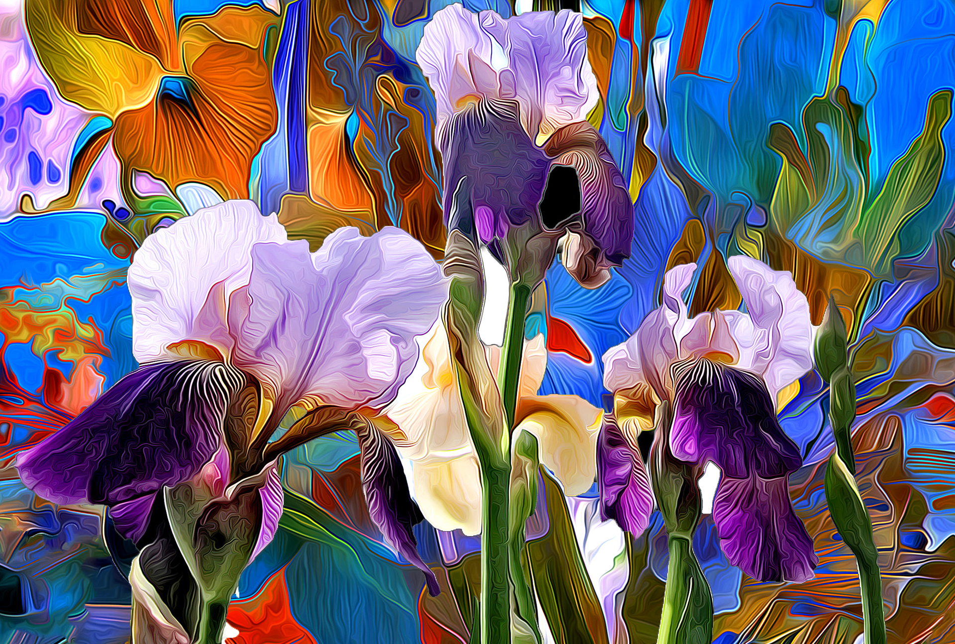 Painting iris flowers image collections flower wallpaper hd iris flower paintings images flower wallpaper hd flower abstract paintings izmirmasajfo izmirmasajfo izmirmasajfo