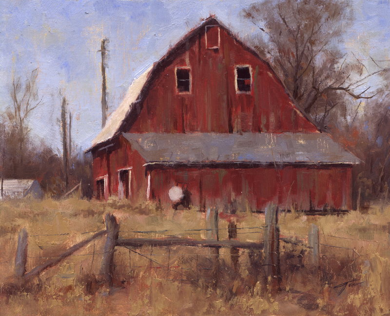 Old Barn Paintings