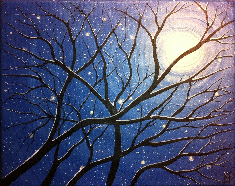 Simple Winter Paintings