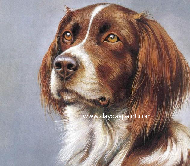 Dog paintings for Painting of your dog