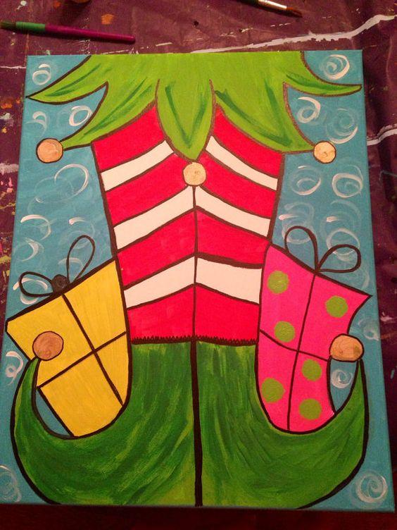 Christmas Paintings For Kids.Pinterest Christmas Paintings