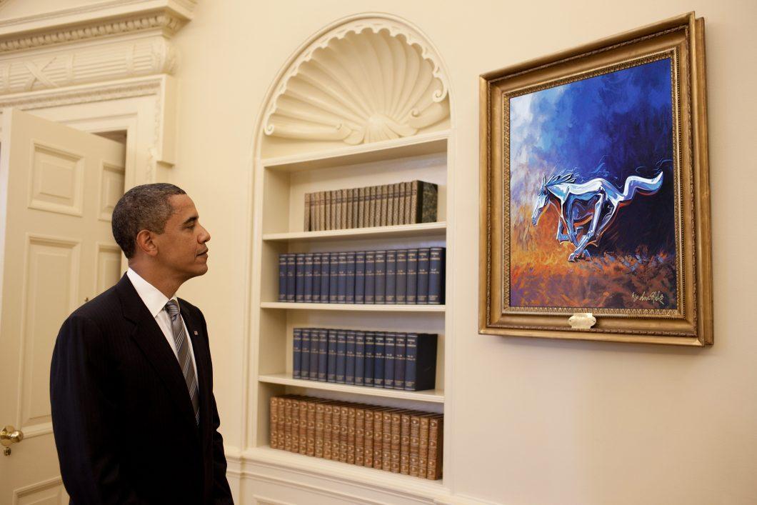 oval office paintings. Oval Office Paintings